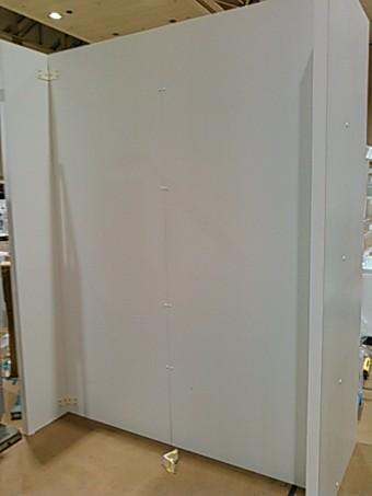 食器棚設置用造作壁