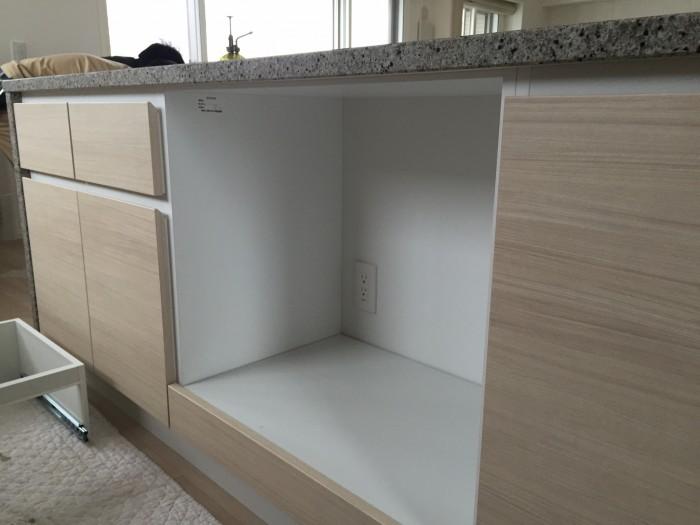 オープン収納スペース