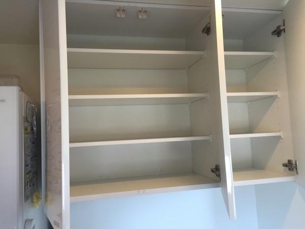 オーダー食器棚吊戸棚