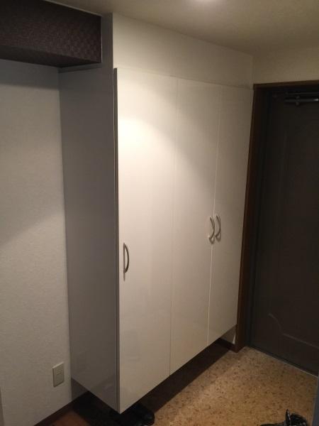 オーダー玄関収納棚