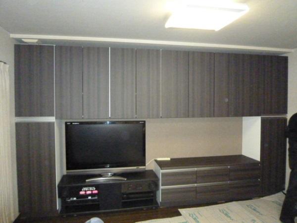 オーダー壁面テレビ台