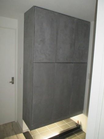 4施工後玄関収納3