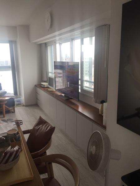 3施工後リビングテレビ台