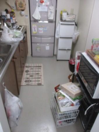 1施工前キッチン