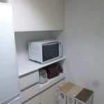 3施工後食器棚キッチンワークスオリジナル