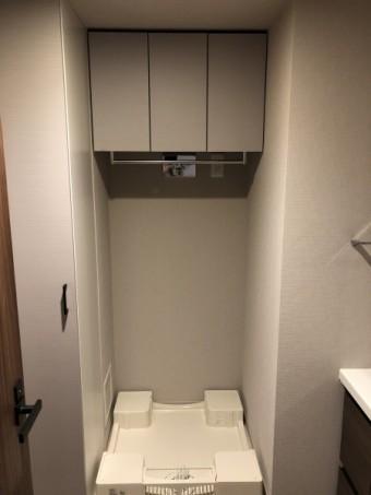 2施工後洗濯機上吊戸