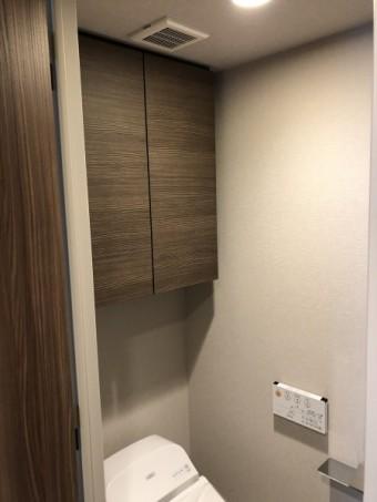 オーダートイレ吊戸棚
