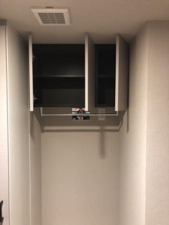 2施工後洗濯機上吊戸開