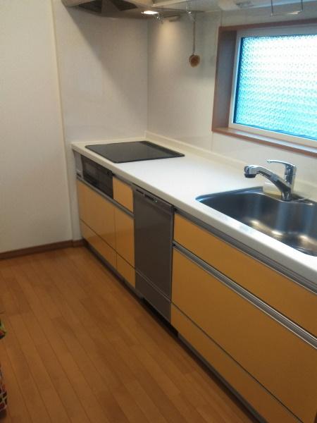 ビルトイン食洗新規設置