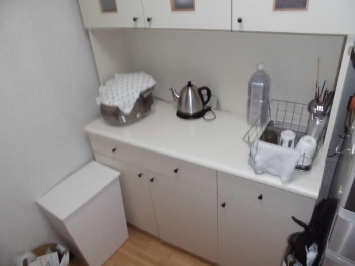 1施工前食器棚